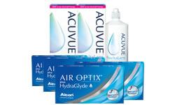 Air Optix Plus HydraGlyde® Kombi Set 4 Kutu