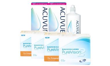 Purevision 2 Hd+Purevision 2 For Astigmatism Kombi Set