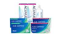 Air Optix Aqua + Air Optix For Astigmatism Kombi Set
