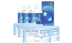 Acuvue Oasys for ASTIGMATISM Kombi Set (Complete Solüsyon)