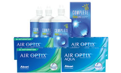 Air Optix + Air Optix Toric Set Complete Solüsyonlu