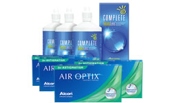 Air Optix for Astigmatism Kombi Set 4 Kutu (Complete Solüsyonlu)