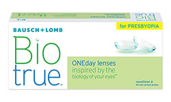 Biotrue ONEday Multifocal lens