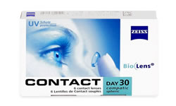 Contact Day 30 Air Toric lens