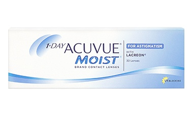 1DAY ACUVUE® MOIST for ASTIGMATISM 30 lu Kutu