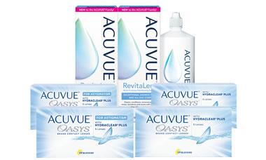Acuvue Oasys + Oasys For Astigmatism Kombi Set