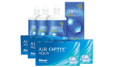 Air Optix AQUA Kombi Set (Complete Solüsyonlu)